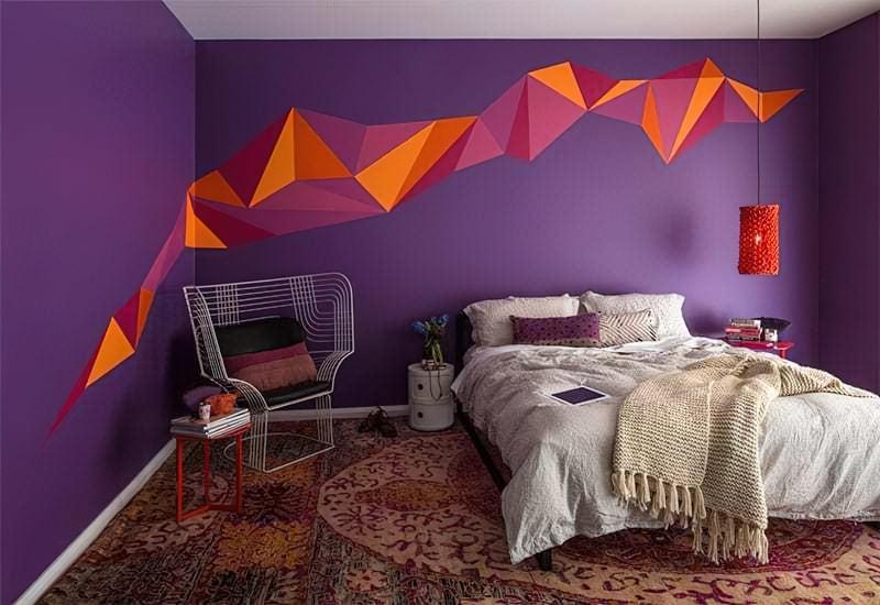 Фарба для спальні або залу