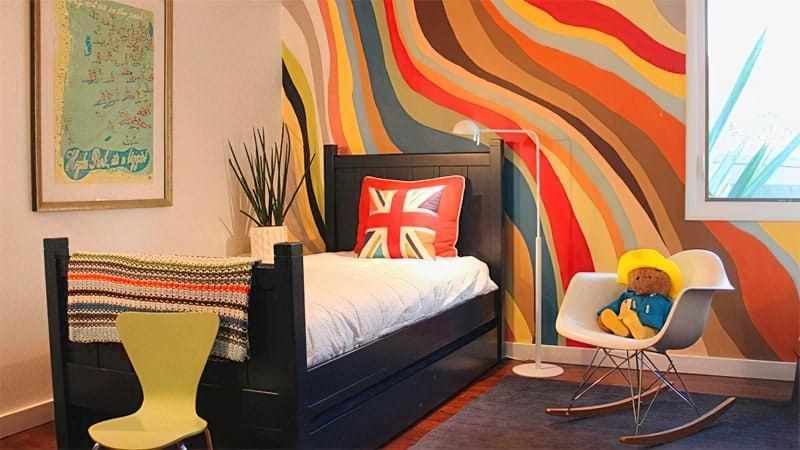 Інтер'єр дитячої кімнати для хлопчика - барвисті і яскраві ідеї 1