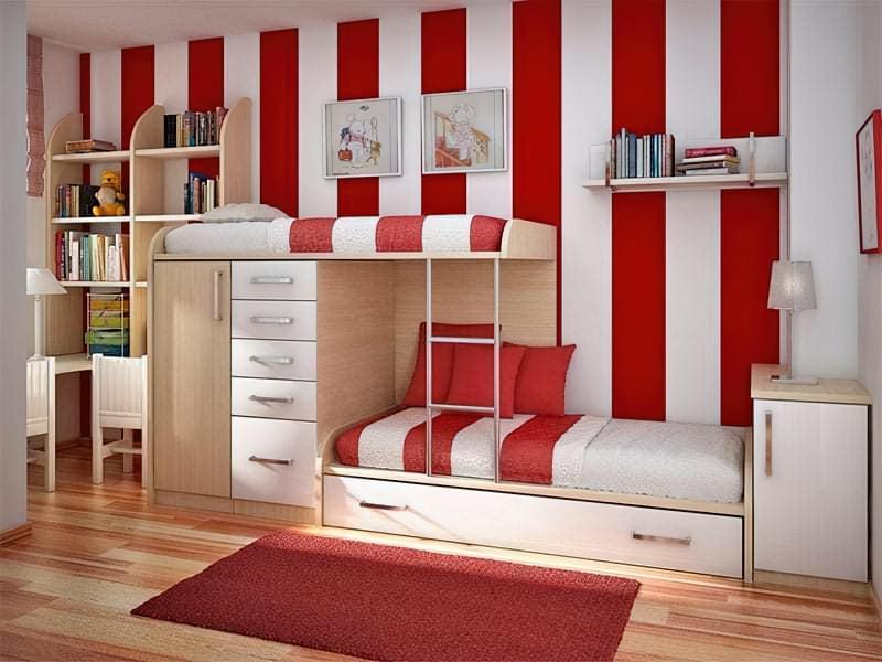 Інтер'єр дитячої кімнати для хлопчика - барвисті і яскраві ідеї 11