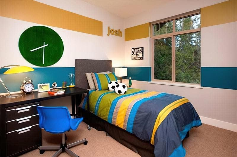Інтер'єр дитячої кімнати для хлопчика - барвисті і яскраві ідеї 12