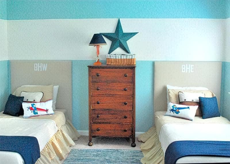 Інтер'єр дитячої кімнати для хлопчика - барвисті і яскраві ідеї 14