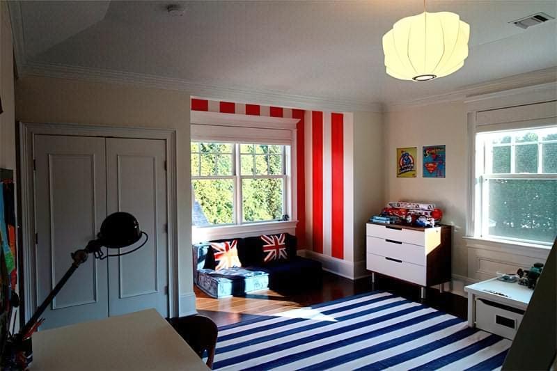 Інтер'єр дитячої кімнати для хлопчика - барвисті і яскраві ідеї 15
