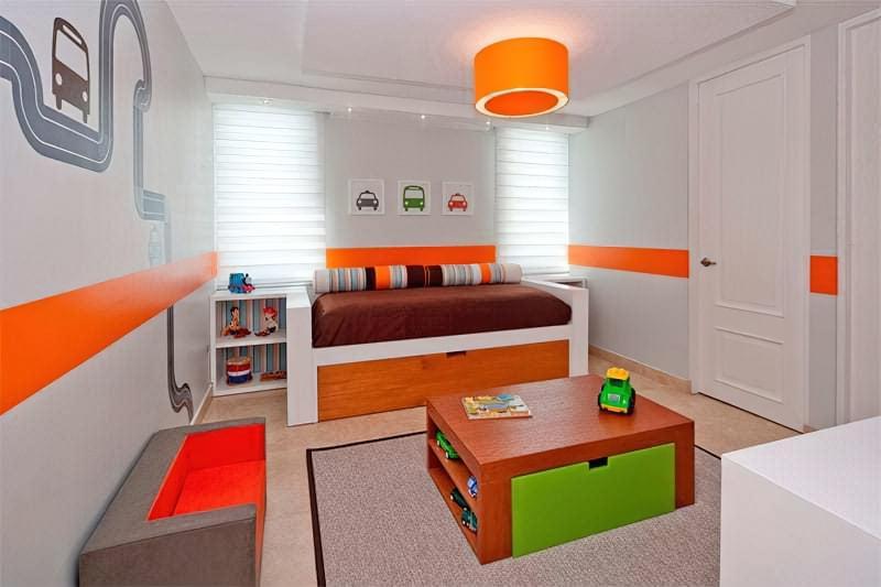 Інтер'єр дитячої кімнати для хлопчика - барвисті і яскраві ідеї 17
