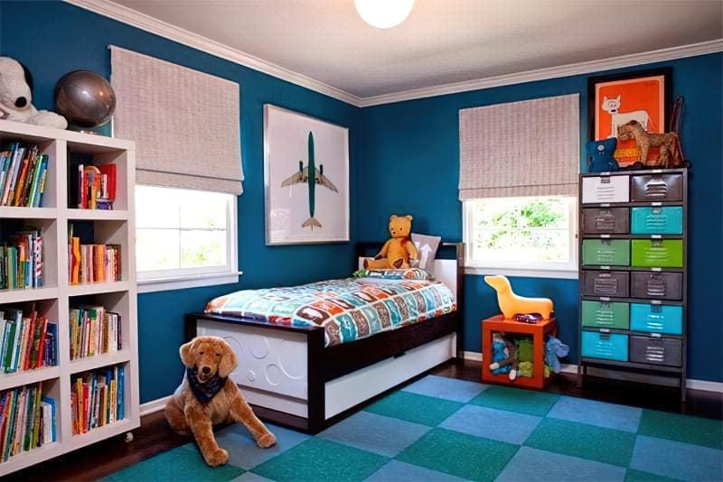 Інтер'єр дитячої кімнати для хлопчика - барвисті і яскраві ідеї 19