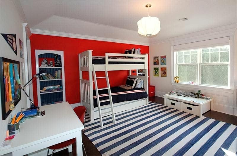 Інтер'єр дитячої кімнати для хлопчика - барвисті і яскраві ідеї 3