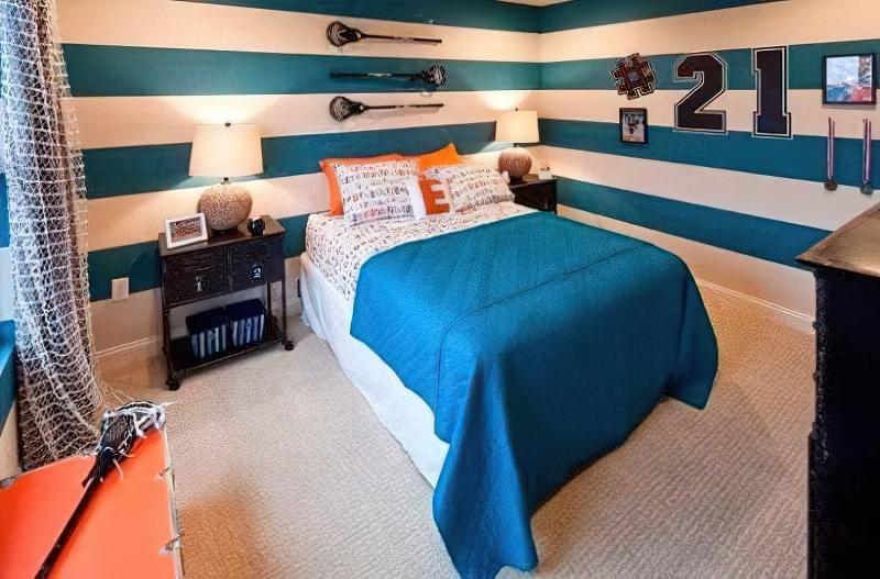 Інтер'єр дитячої кімнати для хлопчика - барвисті і яскраві ідеї 31