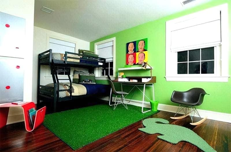 Інтер'єр дитячої кімнати для хлопчика - барвисті і яскраві ідеї 34