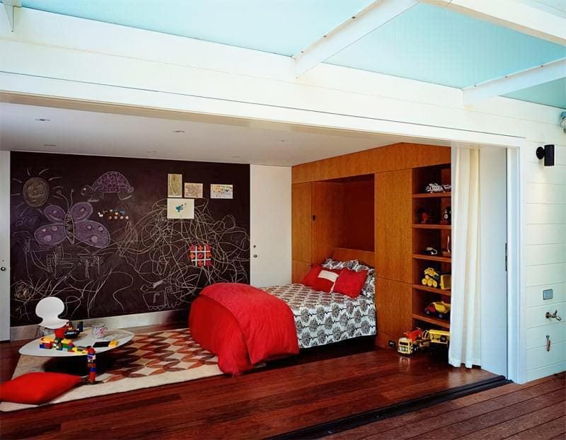 Інтер'єр дитячої кімнати для хлопчика - барвисті і яскраві ідеї 40