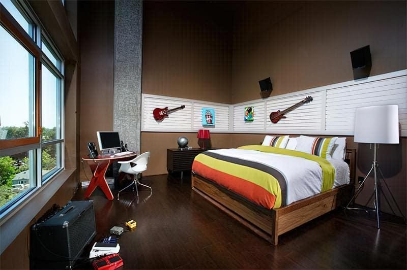 Інтер'єр дитячої кімнати для хлопчика - барвисті і яскраві ідеї 5