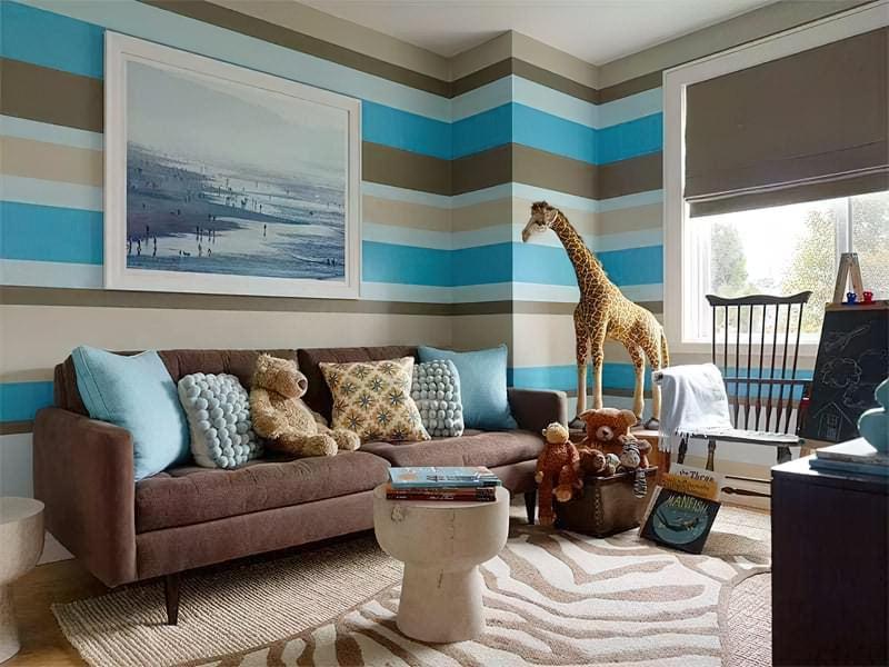 Інтер'єр дитячої кімнати для хлопчика - барвисті і яскраві ідеї 9