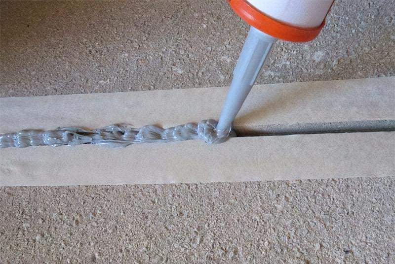 Захист поверхні від попадання герметика