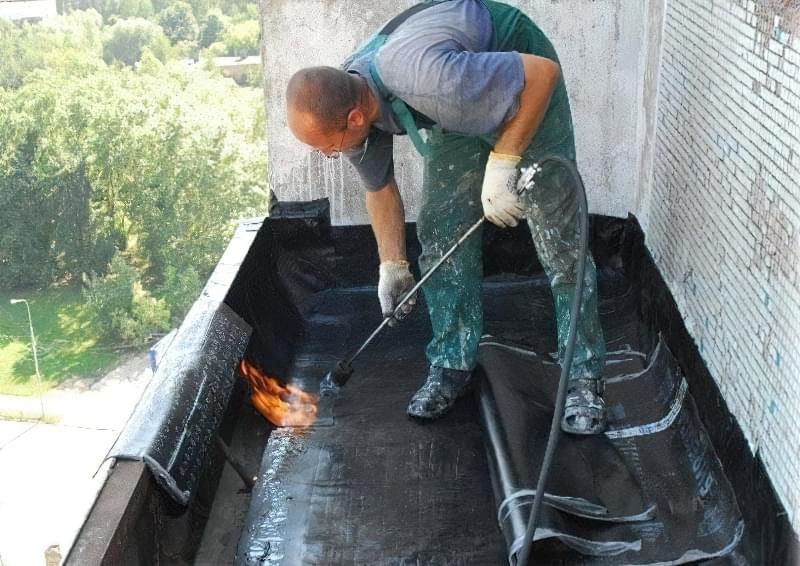 Шумоізоляція даху балкона від дощу 13