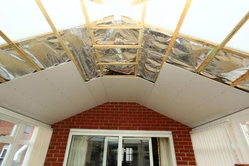 Шумоізоляція даху балкона від дощу 4