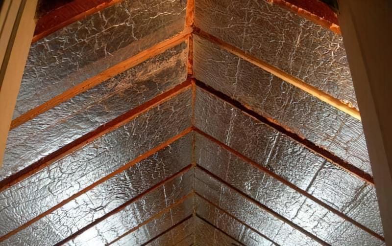 Шумоізоляція даху балкона від дощу 6