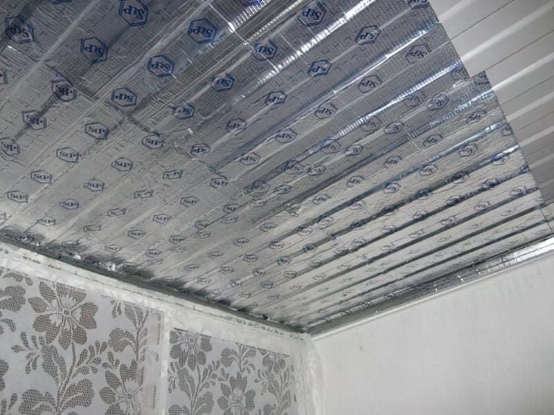 Шумоізоляція даху балкона від дощу 1