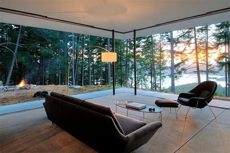 Вітальня в стилі мінімалізм – правила оформлення та ідеї для приголомшливого зовнішнього вигляду 2