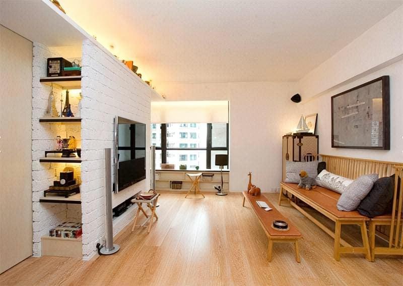 Вітальня в стилі мінімалізм – правила оформлення та ідеї для приголомшливого зовнішнього вигляду 14
