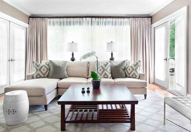 Вітальня в стилі мінімалізм – правила оформлення та ідеї для приголомшливого зовнішнього вигляду 16