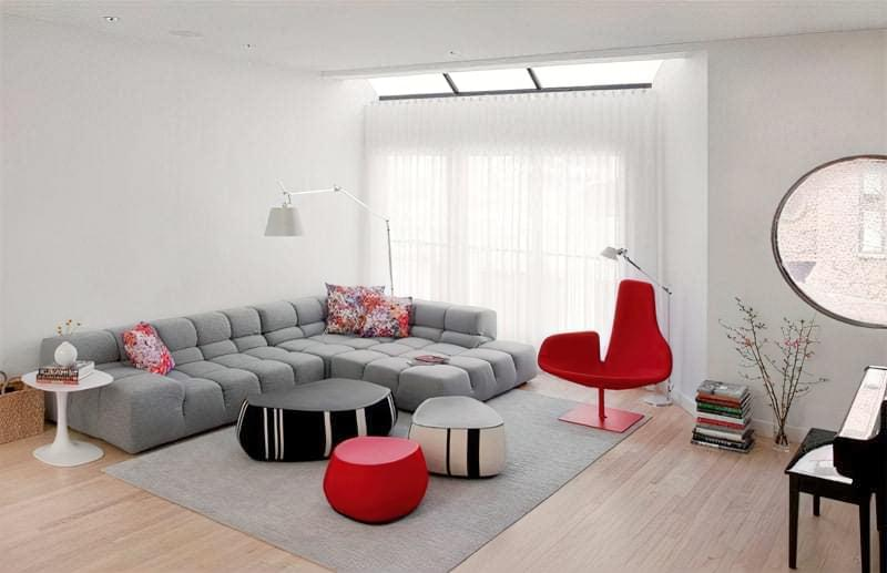 Вітальня в стилі мінімалізм – правила оформлення та ідеї для приголомшливого зовнішнього вигляду 24