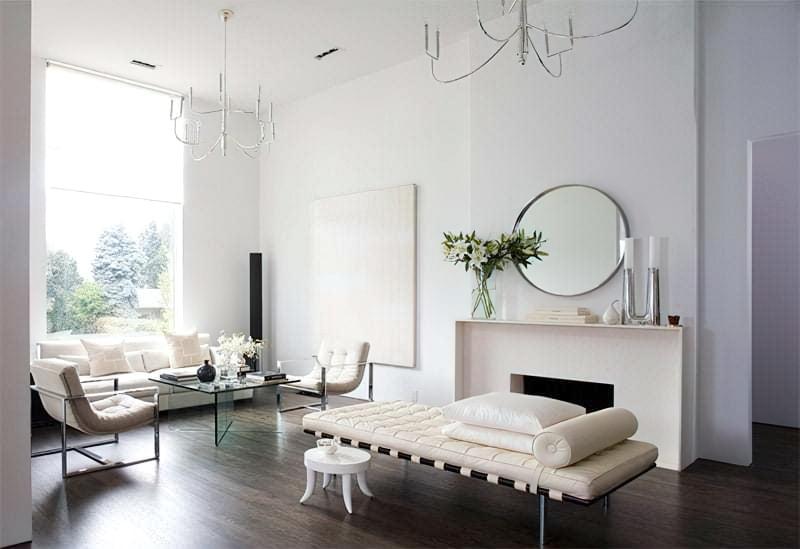 Вітальня в стилі мінімалізм – правила оформлення та ідеї для приголомшливого зовнішнього вигляду 27