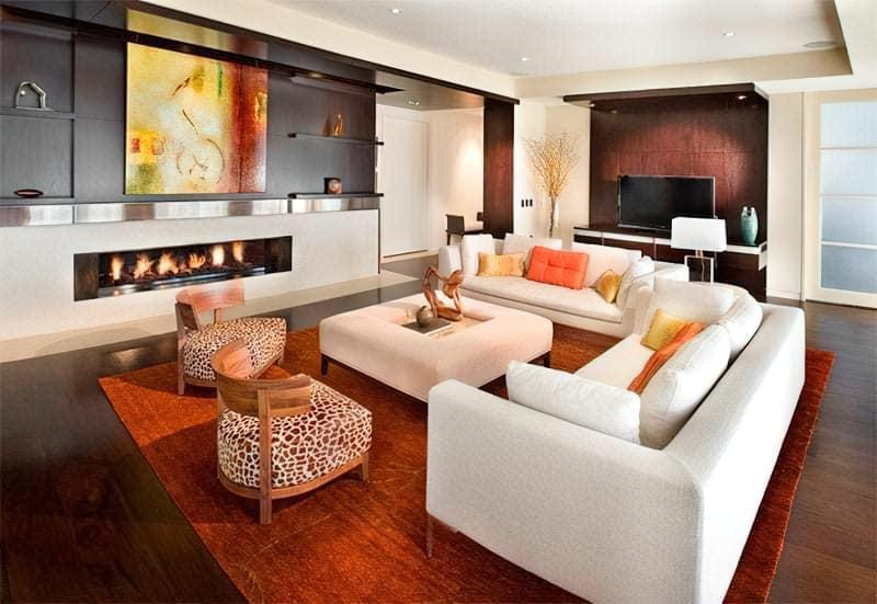 Вітальня в стилі мінімалізм – правила оформлення та ідеї для приголомшливого зовнішнього вигляду 4