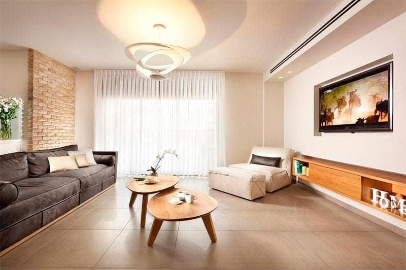 Вітальня в стилі мінімалізм – правила оформлення та ідеї для приголомшливого зовнішнього вигляду 31