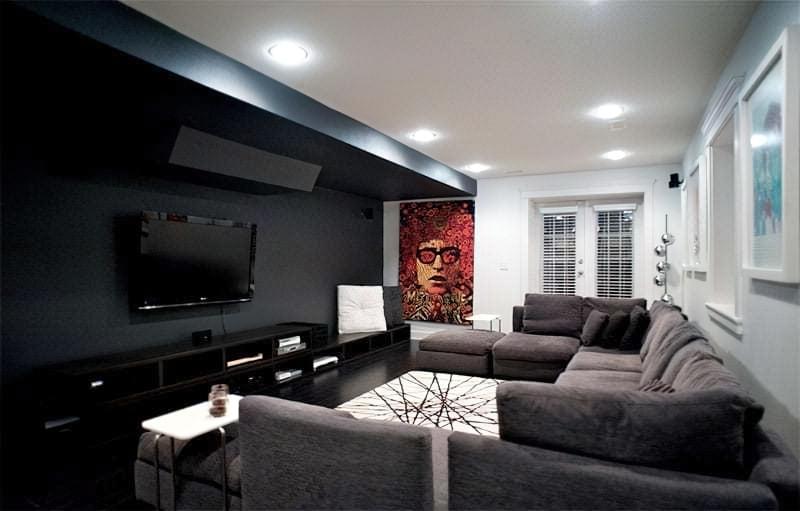 Вітальня в стилі мінімалізм – правила оформлення та ідеї для приголомшливого зовнішнього вигляду 35