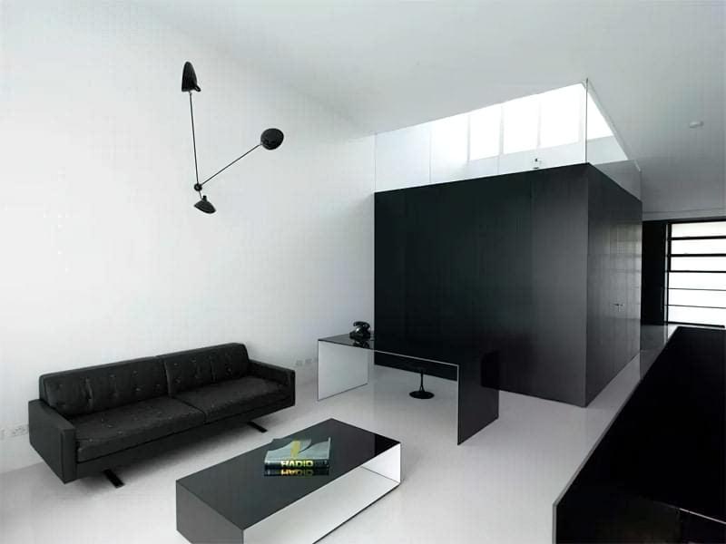 Вітальня в стилі мінімалізм – правила оформлення та ідеї для приголомшливого зовнішнього вигляду 39