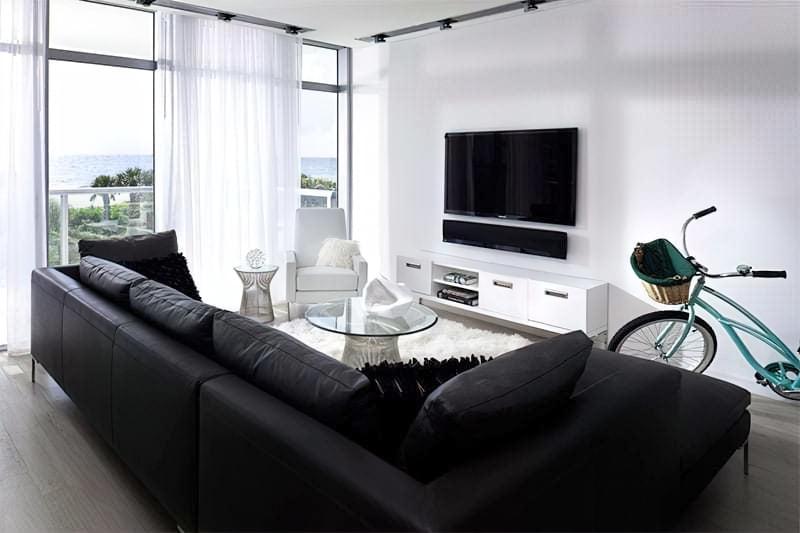Вітальня в стилі мінімалізм – правила оформлення та ідеї для приголомшливого зовнішнього вигляду 5