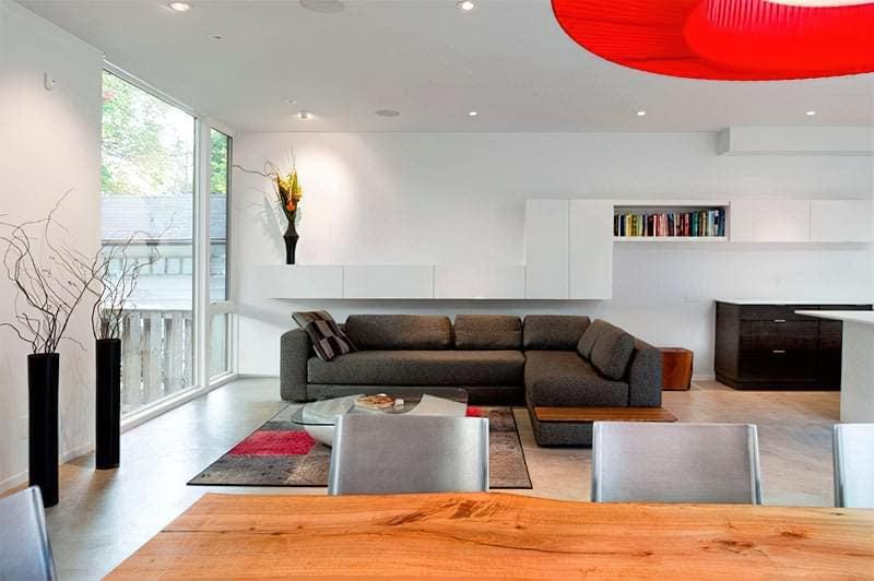 Вітальня в стилі мінімалізм – правила оформлення та ідеї для приголомшливого зовнішнього вигляду 40