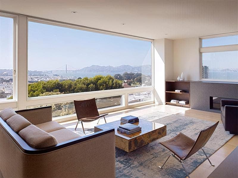 Вітальня в стилі мінімалізм – правила оформлення та ідеї для приголомшливого зовнішнього вигляду 41