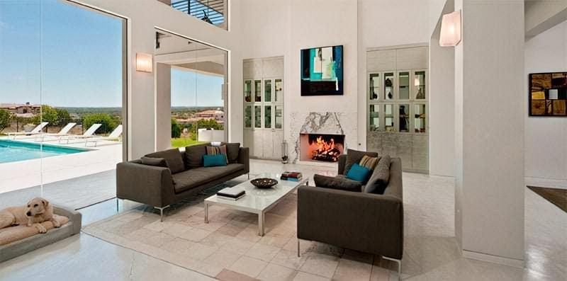Вітальня в стилі мінімалізм – правила оформлення та ідеї для приголомшливого зовнішнього вигляду 43