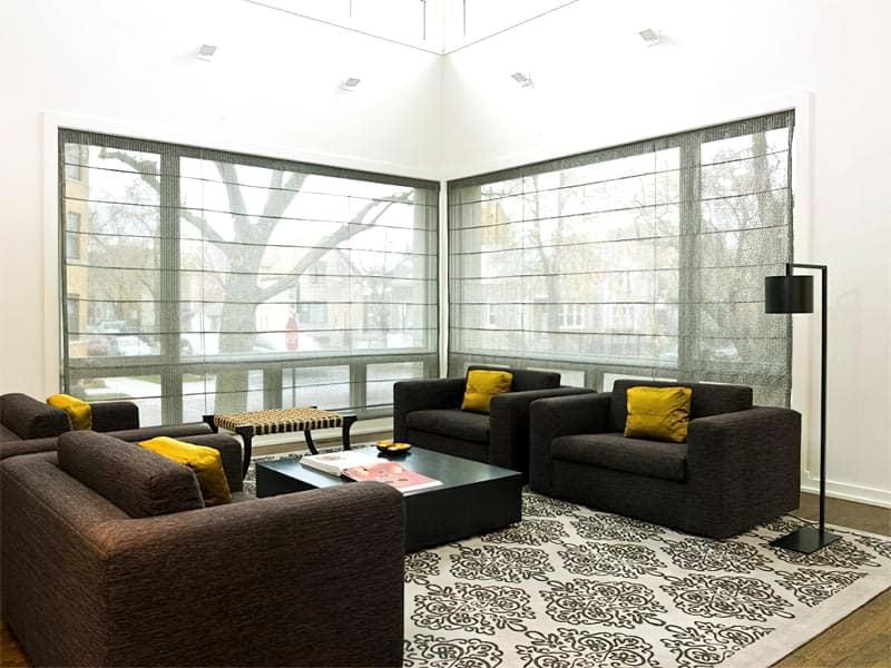 Вітальня в стилі мінімалізм – правила оформлення та ідеї для приголомшливого зовнішнього вигляду 46