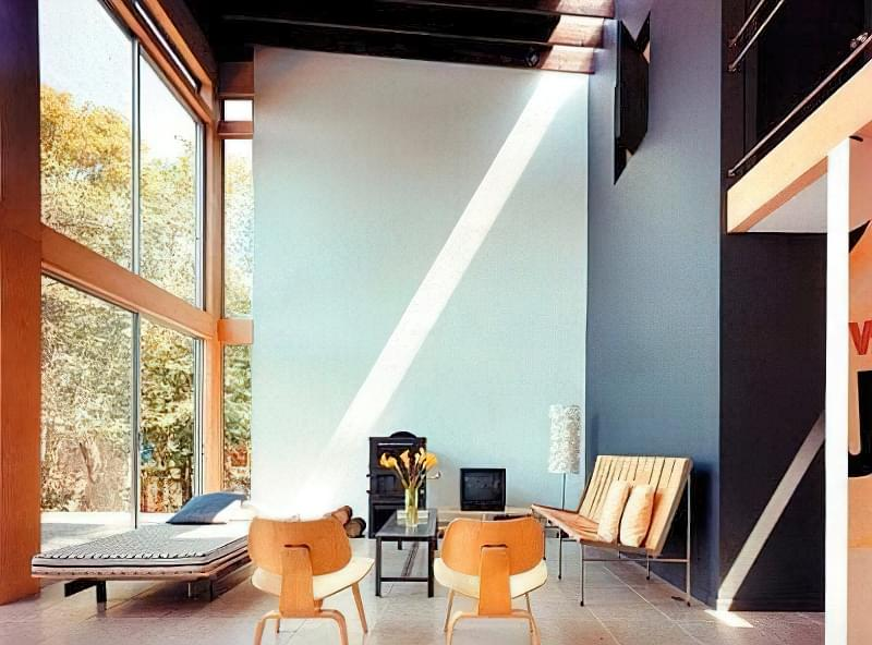 Вітальня в стилі мінімалізм – правила оформлення та ідеї для приголомшливого зовнішнього вигляду 47