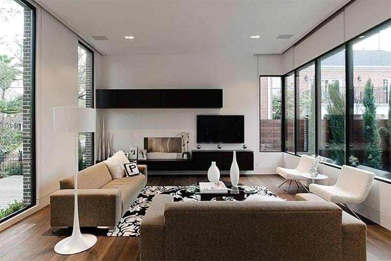 Вітальня в стилі мінімалізм – правила оформлення та ідеї для приголомшливого зовнішнього вигляду 7
