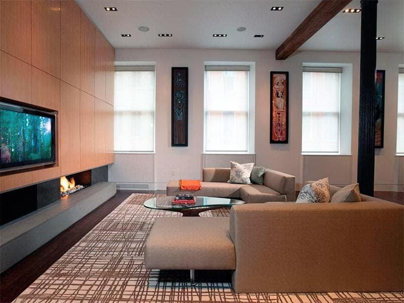 Вітальня в стилі мінімалізм – правила оформлення та ідеї для приголомшливого зовнішнього вигляду 10