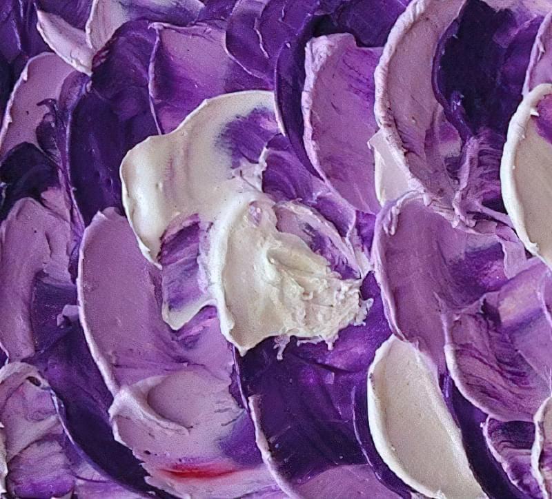 Як отримати фіолетовий колір при змішуванні фарб, таблиці 4