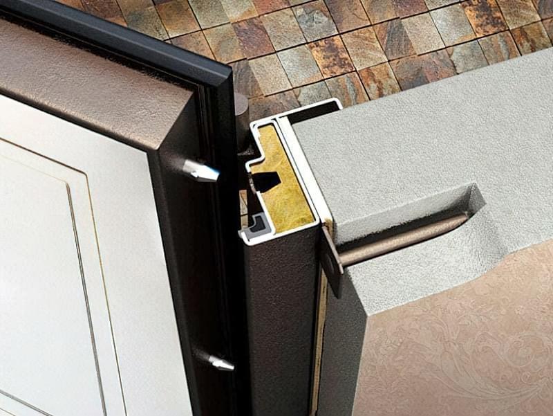 Монтажна пластина дверної коробки