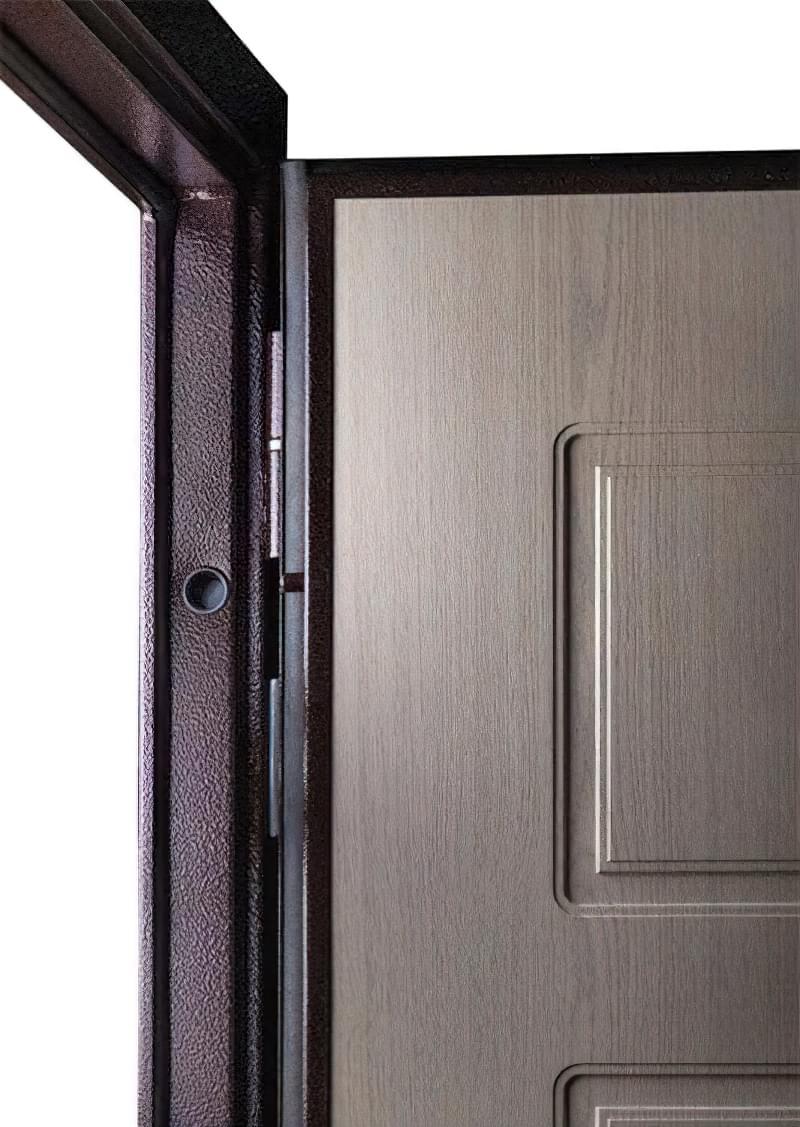 Як вибрати хороші вхідні металеві двері: конструкції, матеріали, захисні властивості 10