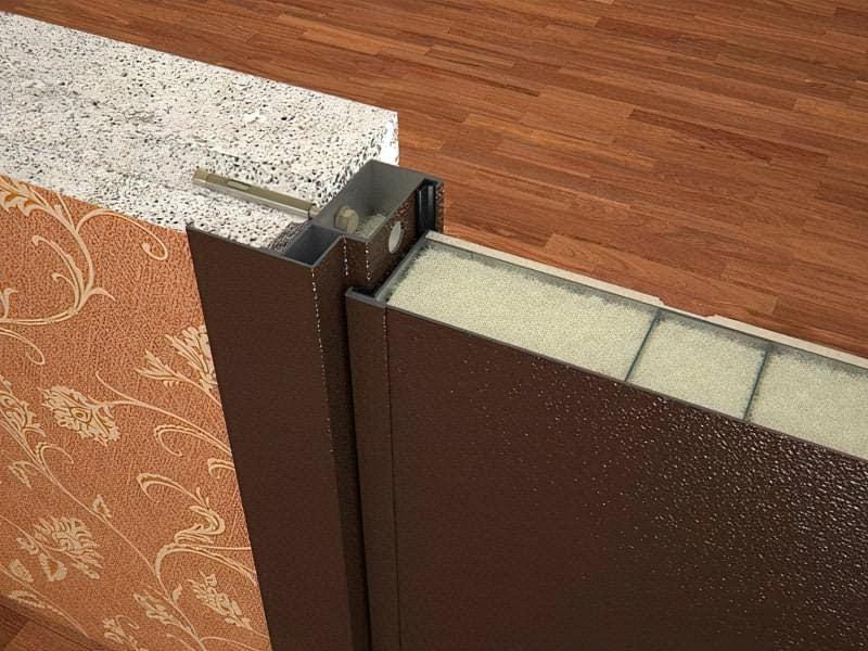 Як вибрати хороші вхідні металеві двері: конструкції, матеріали, захисні властивості 11