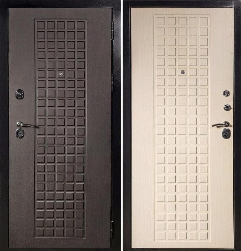 Як вибрати хороші вхідні металеві двері: конструкції, матеріали, захисні властивості 15