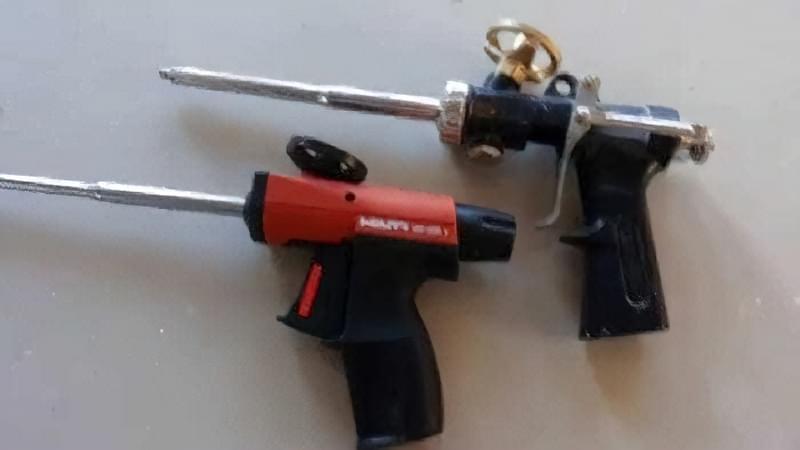 Як вибрати хороший пістолет для монтажної піни: критерії, виробники 9