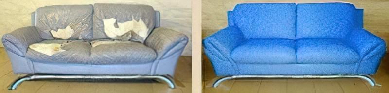 Як виконати перетяжку дивана своїми руками 8