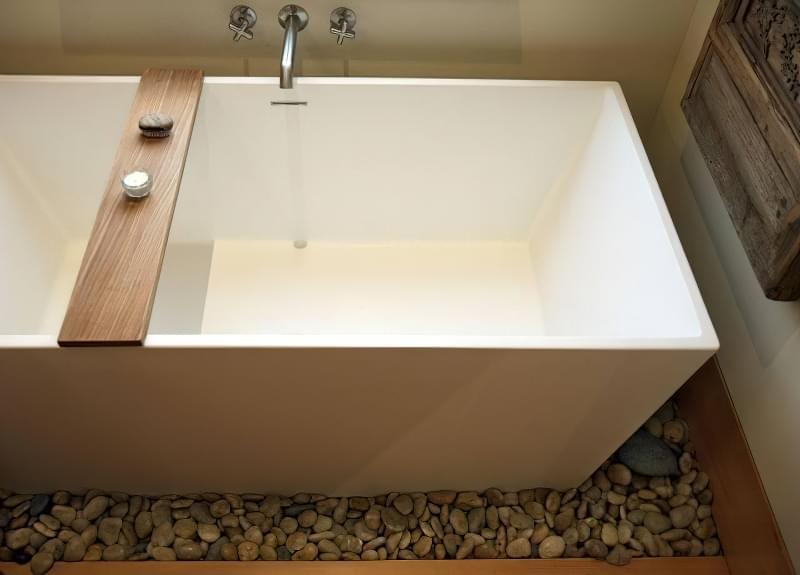 Як зробити підлогу під ванною своїми руками 8