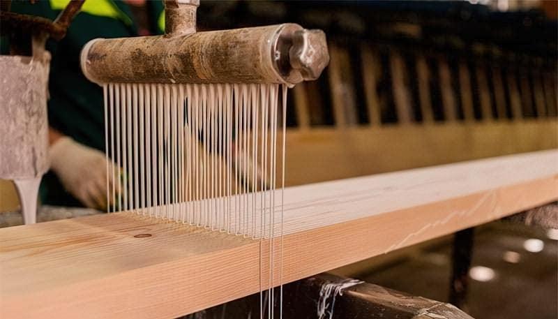 Виготовлення клеєного бруса