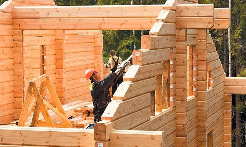 З якого бруса краще будувати будинок – порівняння матеріалів 1