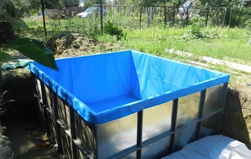 Зробити басейн на дачі — просто! Ідеї простих басейнів 12