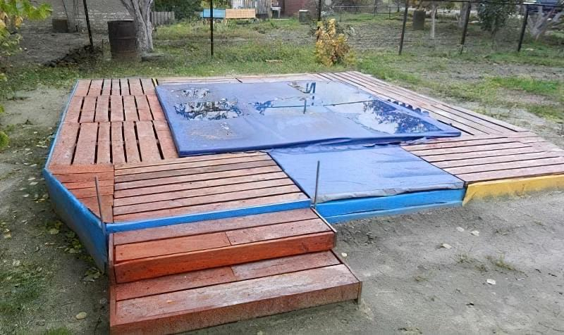 Зробити басейн на дачі — просто! Ідеї простих басейнів 13