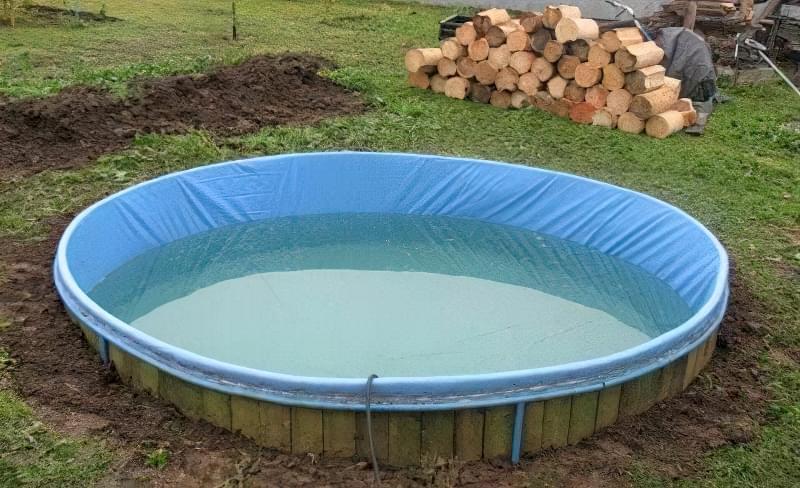 Зробити басейн на дачі — просто! Ідеї простих басейнів 4