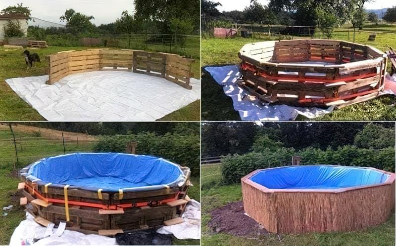 Зробити басейн на дачі — просто! Ідеї простих басейнів 5